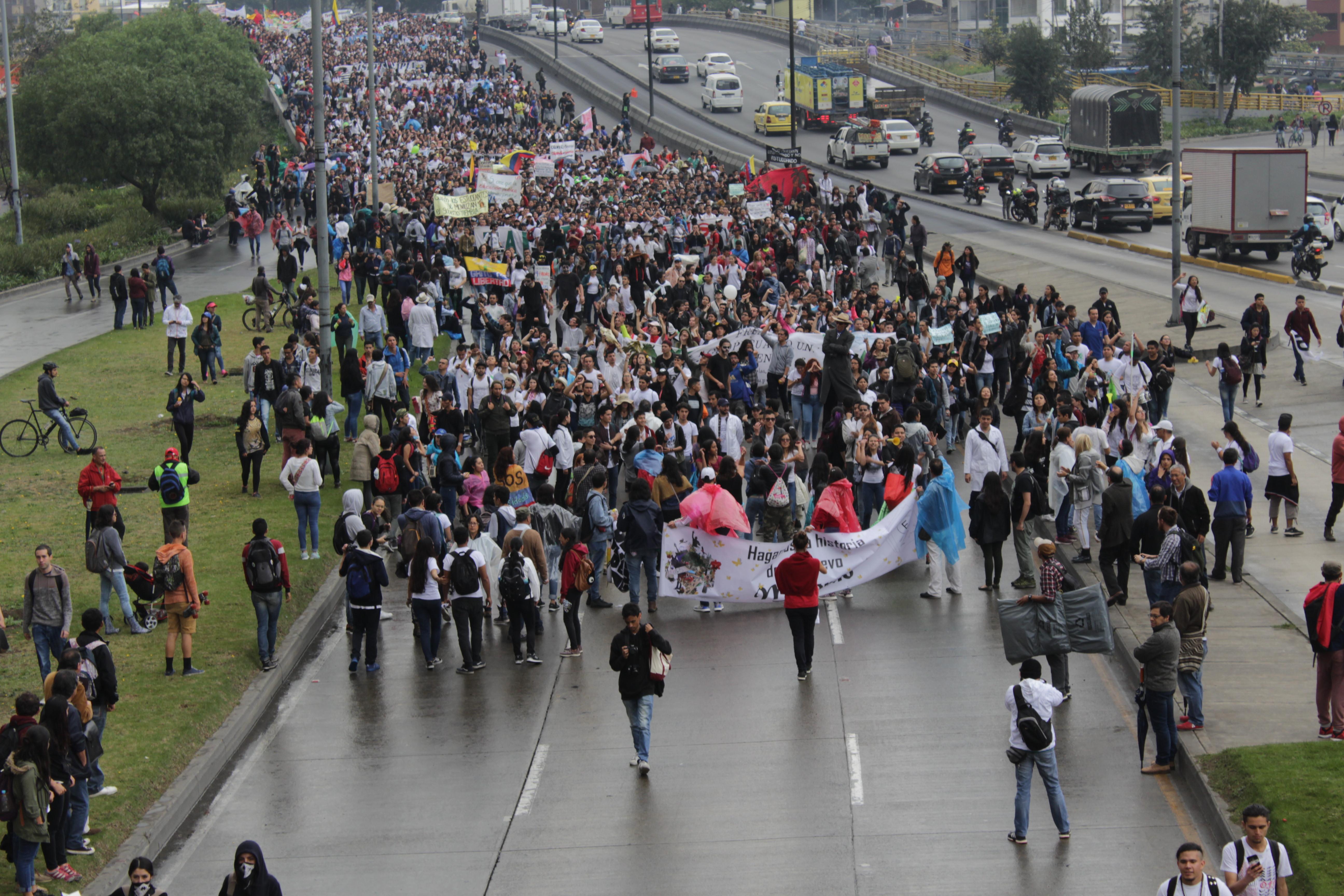 Multitudinaria manifestación