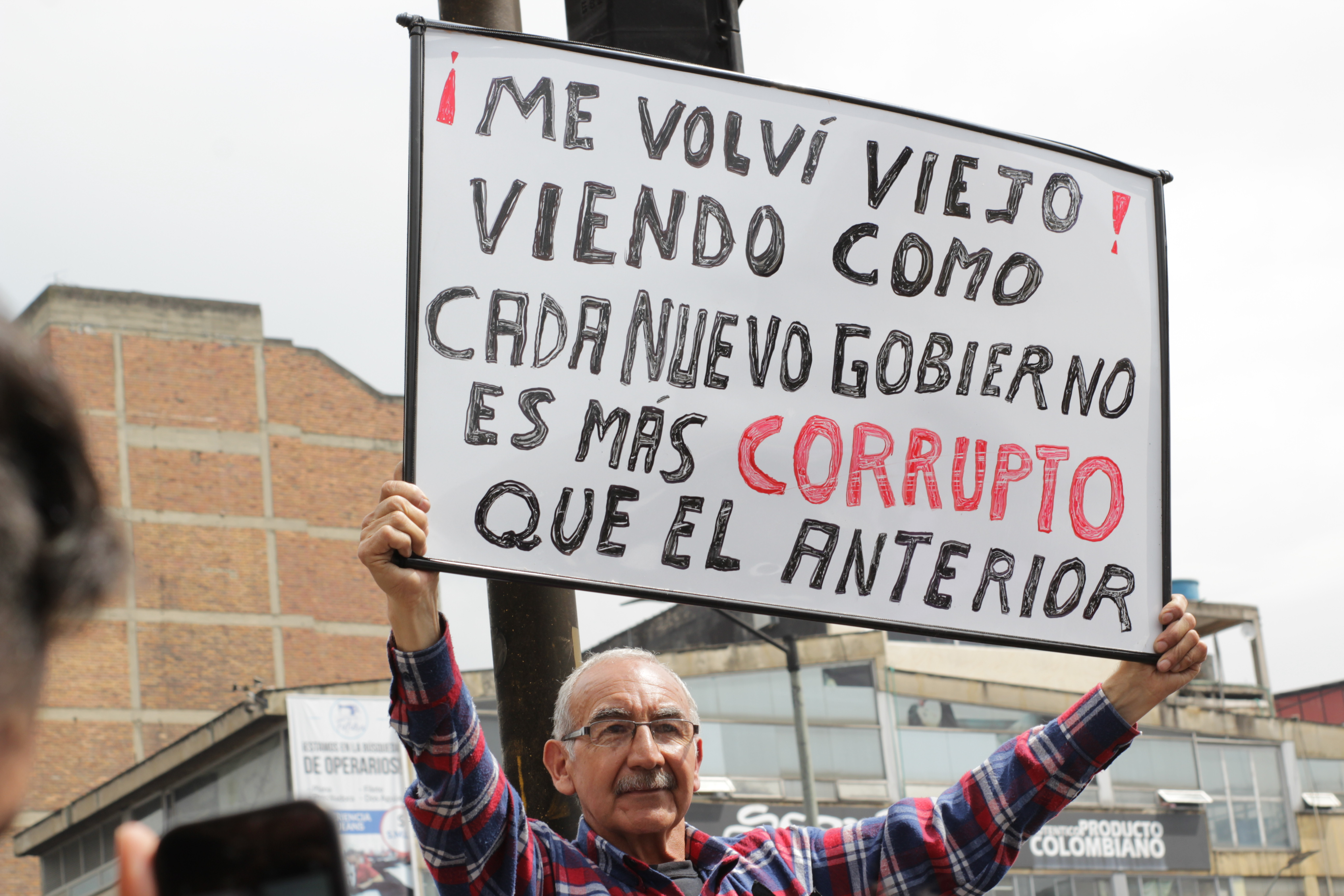 Cansados de la corrupción