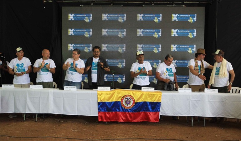 Hombres armados ocuparon nueva sede del partido político FARC en Colombia