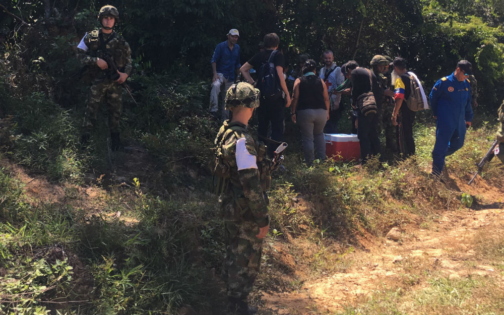Un soldado muerto en hostigamiento a base militar — Norte de Santander