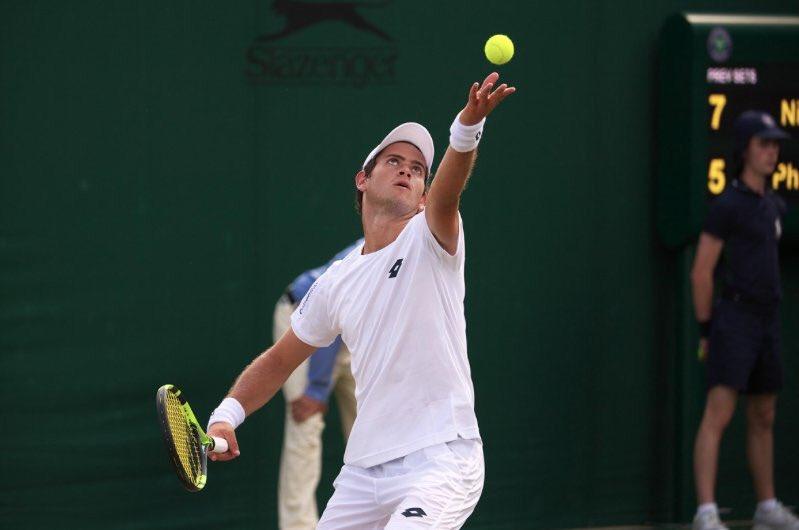 Nicolás Mejia, a las semifinales del torneo junior de Wimbledon