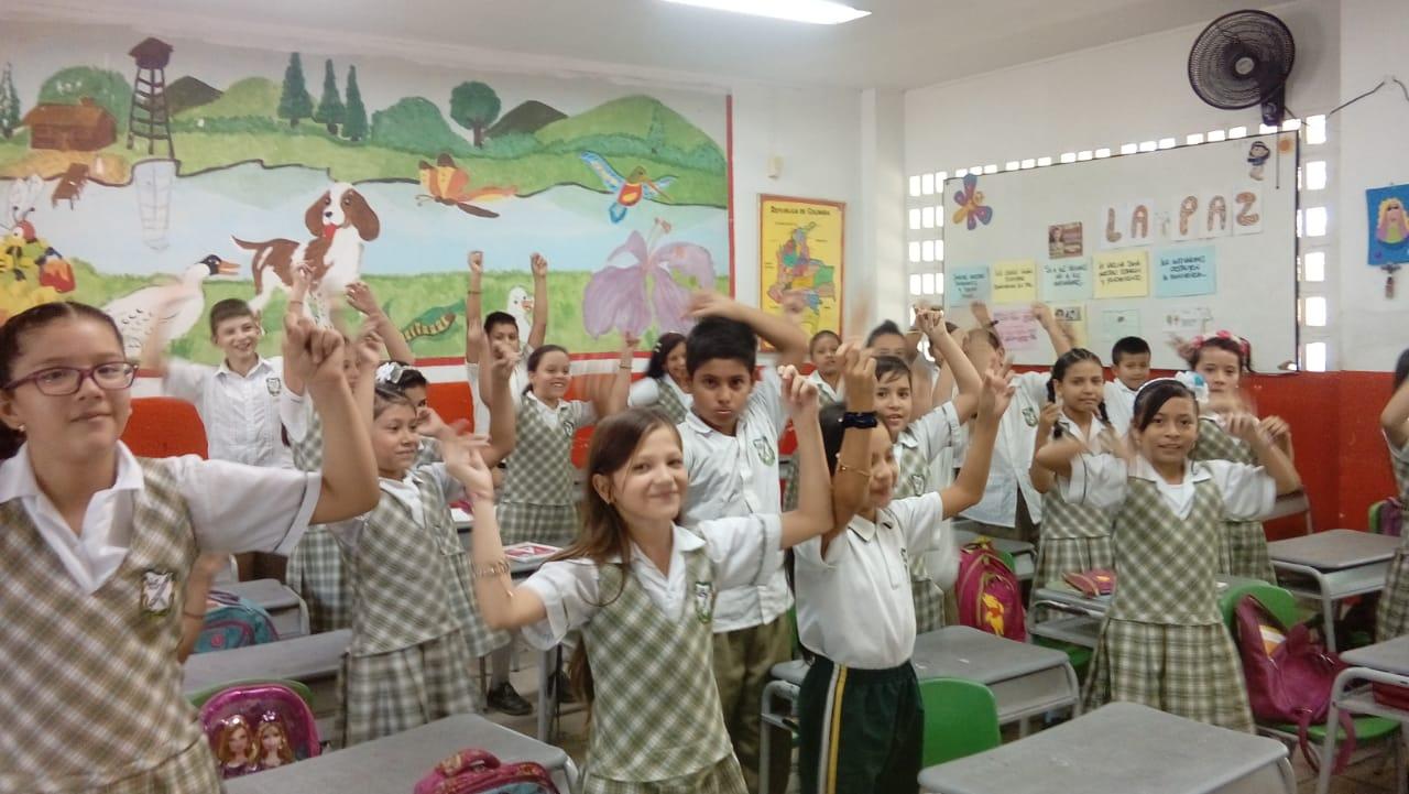 Enrutate en la IE Eduardo Santos con sus sedes