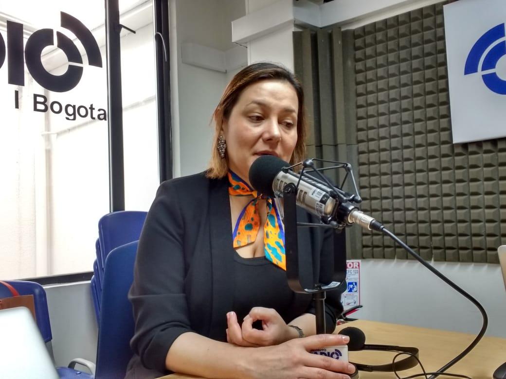 Ángela Garzón única candidata de la Alcaldía de Bogotá por el Centro Democrático