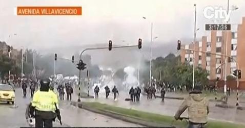 Enfrentamientos Barrio Timiza