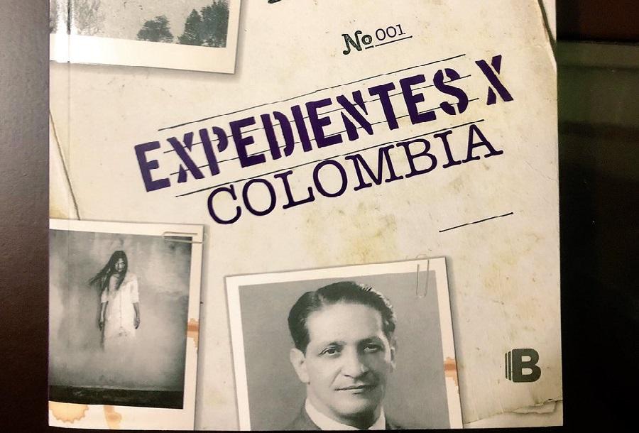 Portada del libro Expedientes X Colombia escrito por Esteban Cruz Niño.