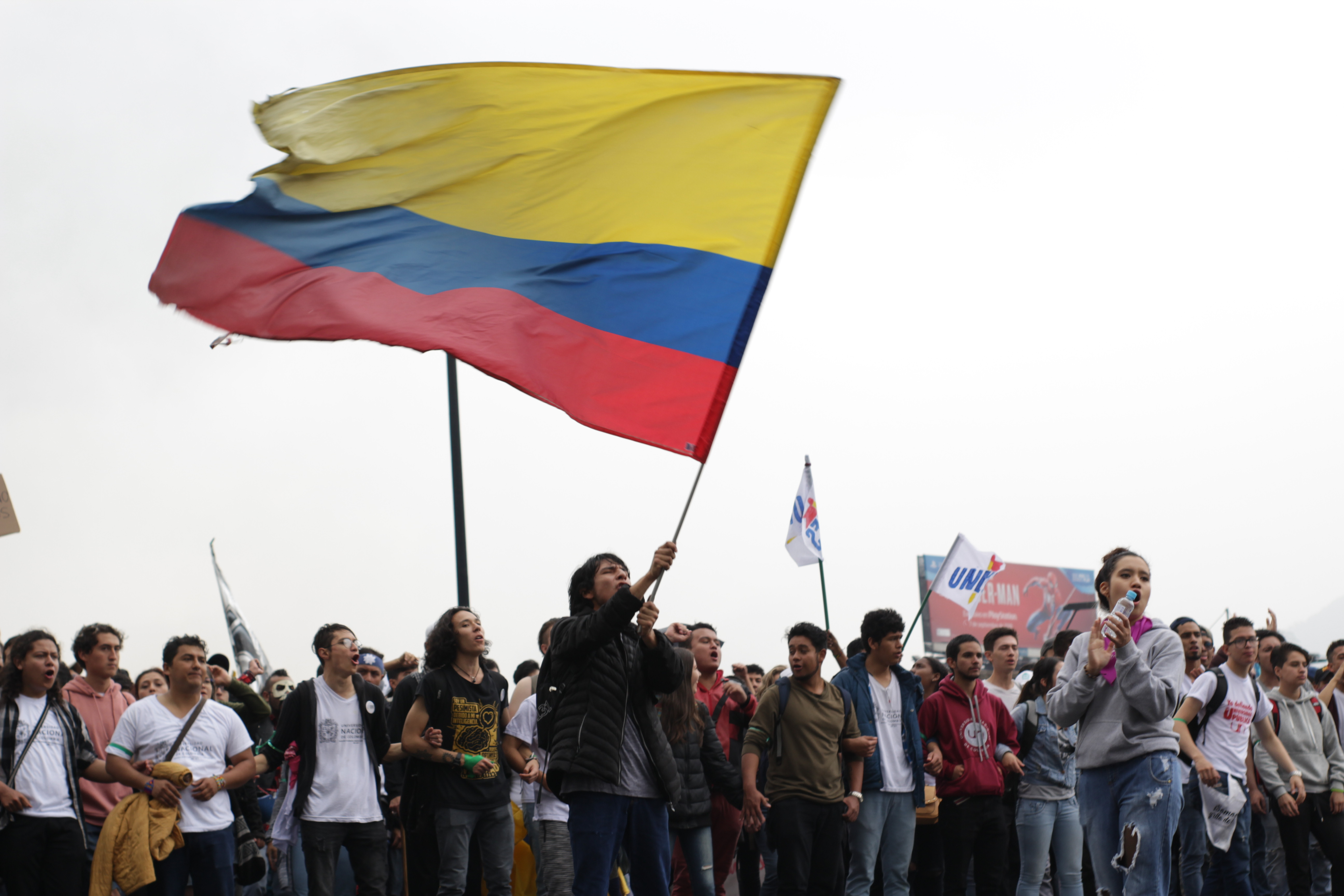 ¡Colombia marcha!