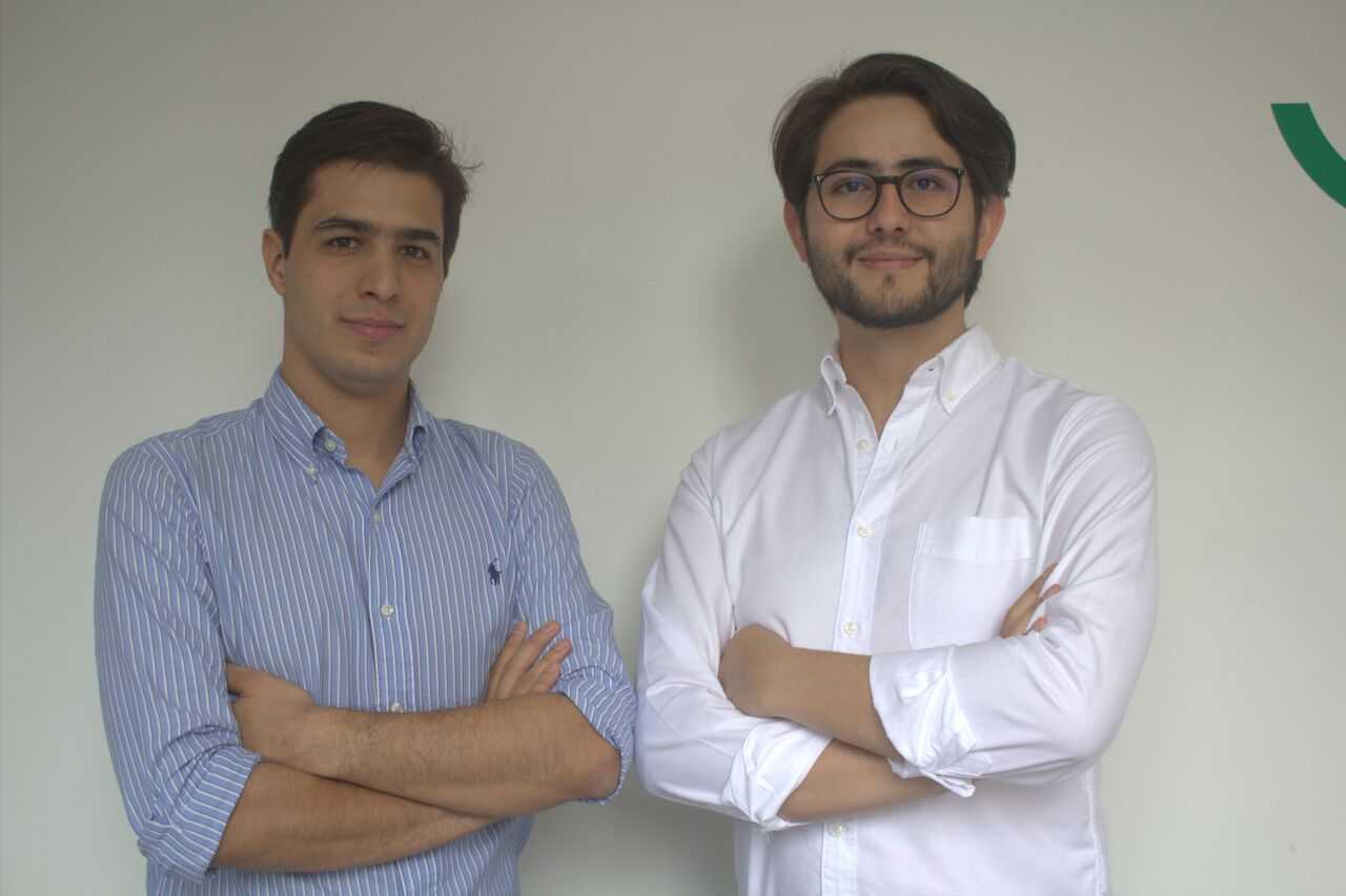 Simón González y Andrés Vélez, fundadores de Tributi.
