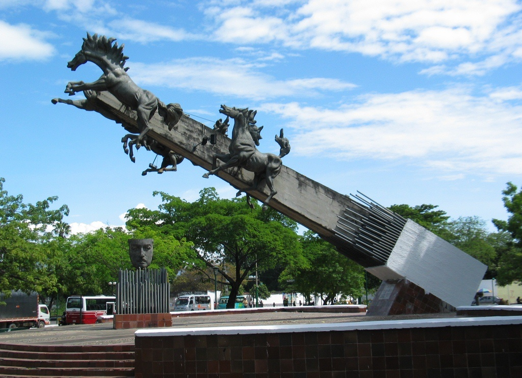 Monumento a Los Potros. Neiva. Foto Suministrada-Internet