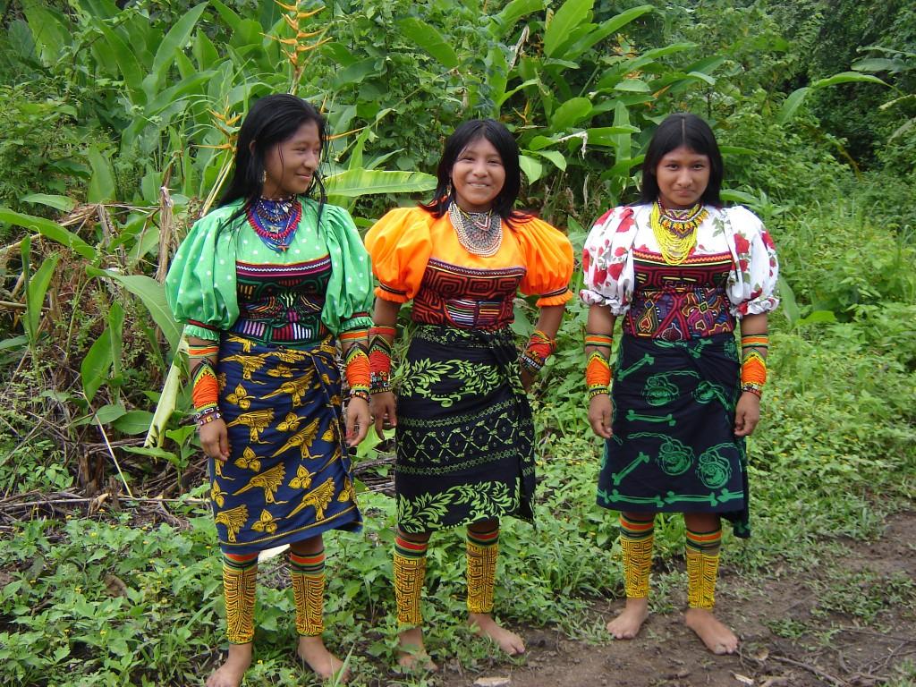 Mujeres indígenas. Imagen de la Organización Nacional Indígena (Onic). El 5 de septiembre se cumple el día internacional de la Mujer Indígena.