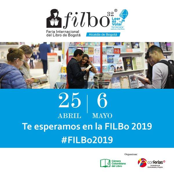 El invitado de honor en la Feria del Libro 2019 será Colombia