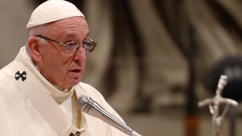 """""""Los tiempos de hoy no son diferentes a los del diluvio"""": papa Francisco interpela a ONU"""