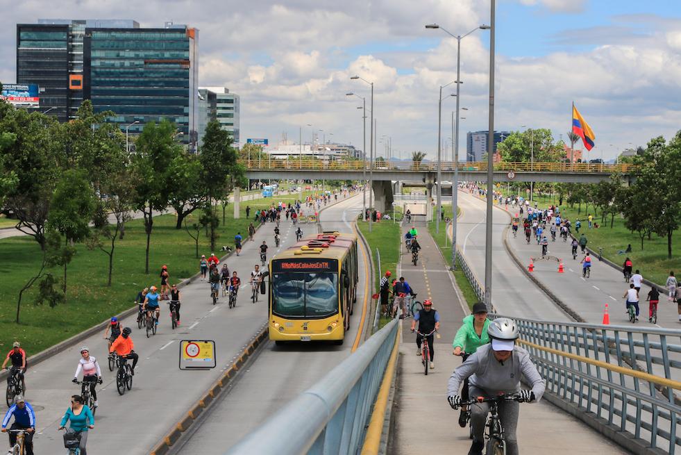 Ciclovia Turistica o Bogotá Master Bike