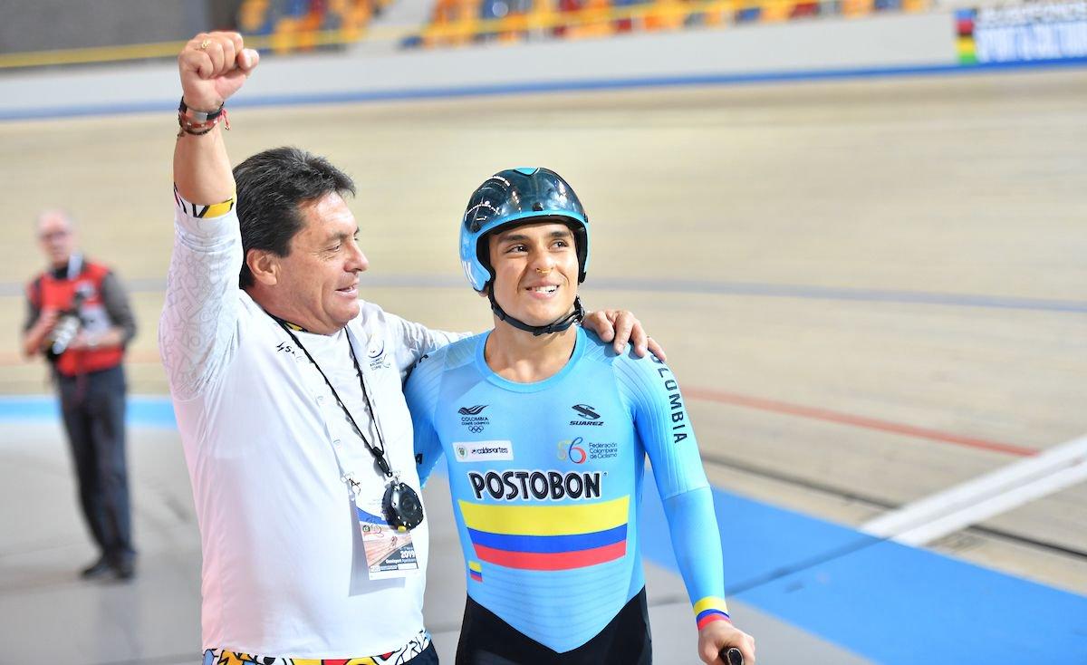 Colombiano logró medalla de oro y récord en Mundial de Paracycling