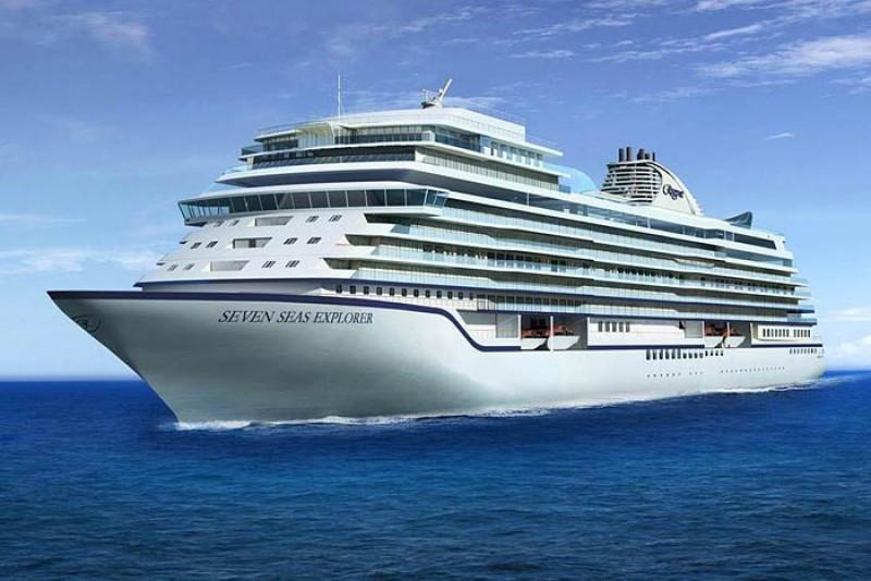 Uno de los cruceros más lujoso del mundo llegó al puerto de  Cartagena