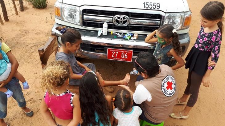 Cruz Roja aumentará presupuesto para Venezuela