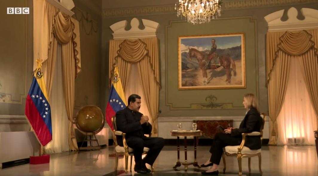 La crisis humanitaria es un show inventado por EE.UU: Nicolás Maduro