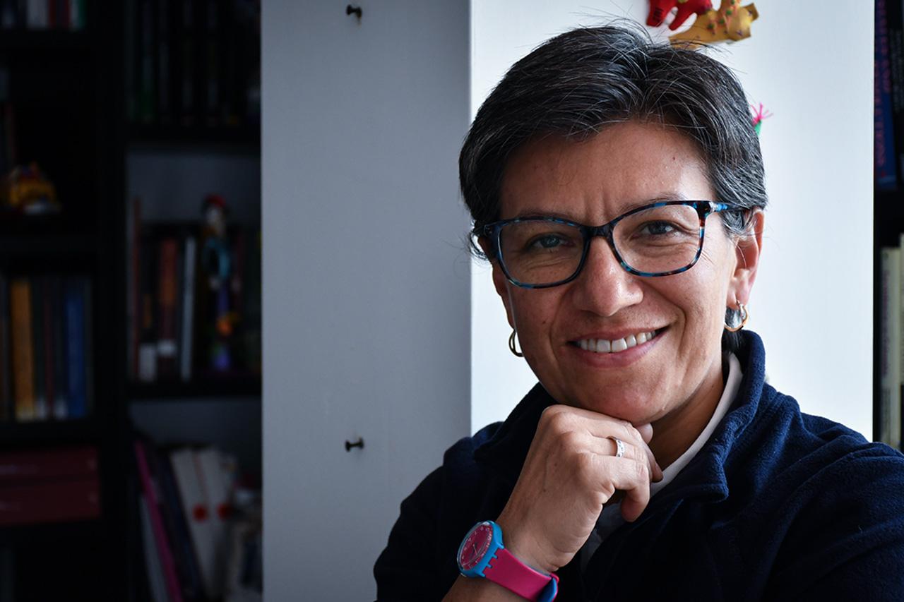 Claudia López se lanza como candidata a la Alcaldía de Bogotá