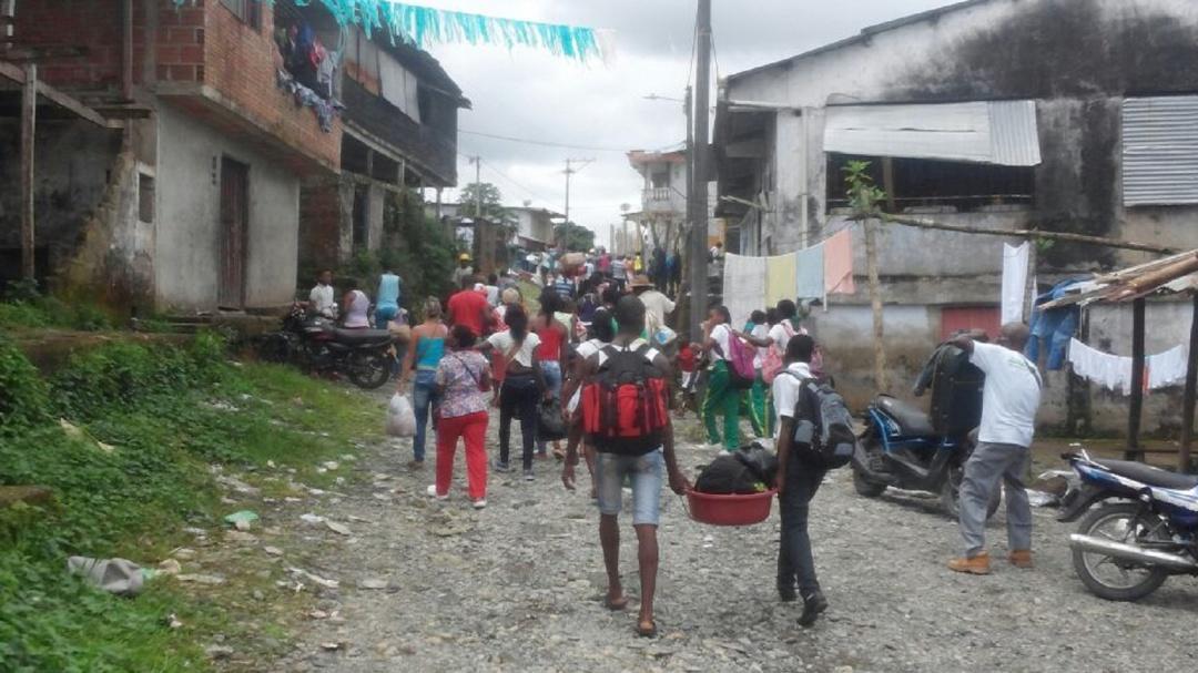 Desplazamientos y hechos violentos, encienden las alarmas en la región del suroccidente del país
