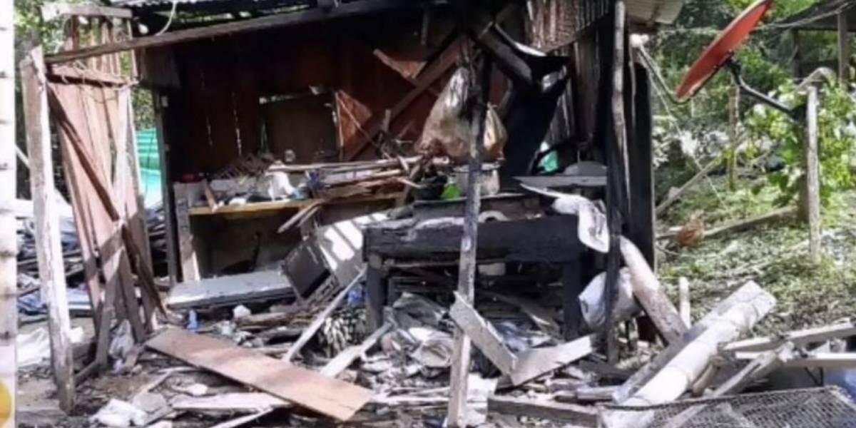Explosivos en resguardo indígena eran  para atentar contra la Fuerza Pública: Ministro de Defensa