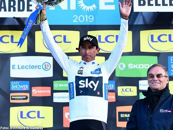 Egan Bernal protagonizó la segunda etapa de la París- Niza