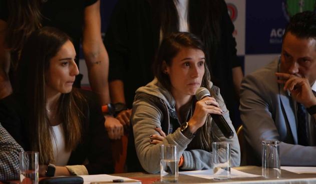 "Coldeportes: ""proponemos una liga profesional femenina"""
