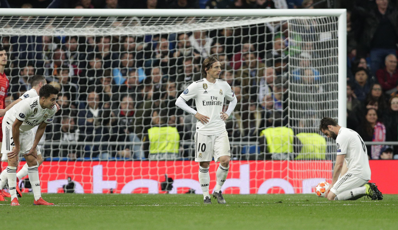 El Real Madrid eliminado de la Champions League