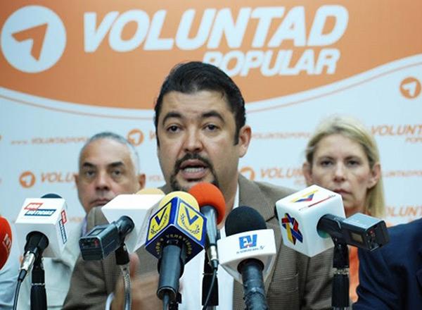 Violencia de estado en Venezuela, detenido Roberto Marrero