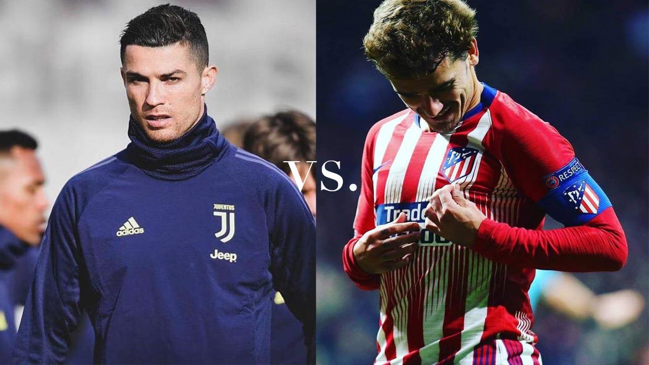 Con la ilusión de remontar, la Juve recibirá en casa al Atlético de Madrid