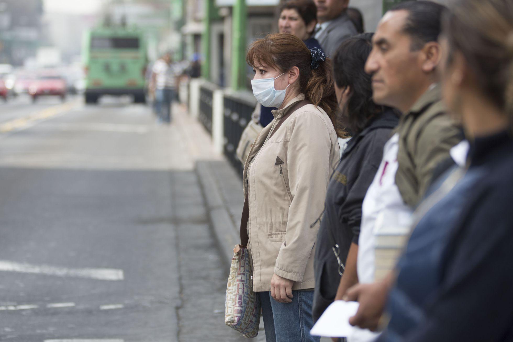 Los síntomas en el cuerpo por la mala calidad del aire en Bogotá