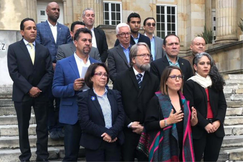 El estatuto de la oposición en Colombia se estrenó con burlas en las redes sociales