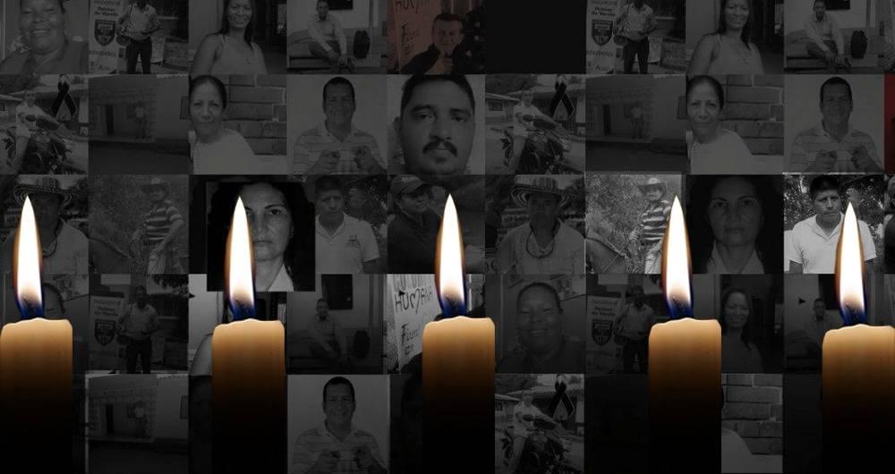 6 de marzo: velatón por la defensa de los líderes sociales
