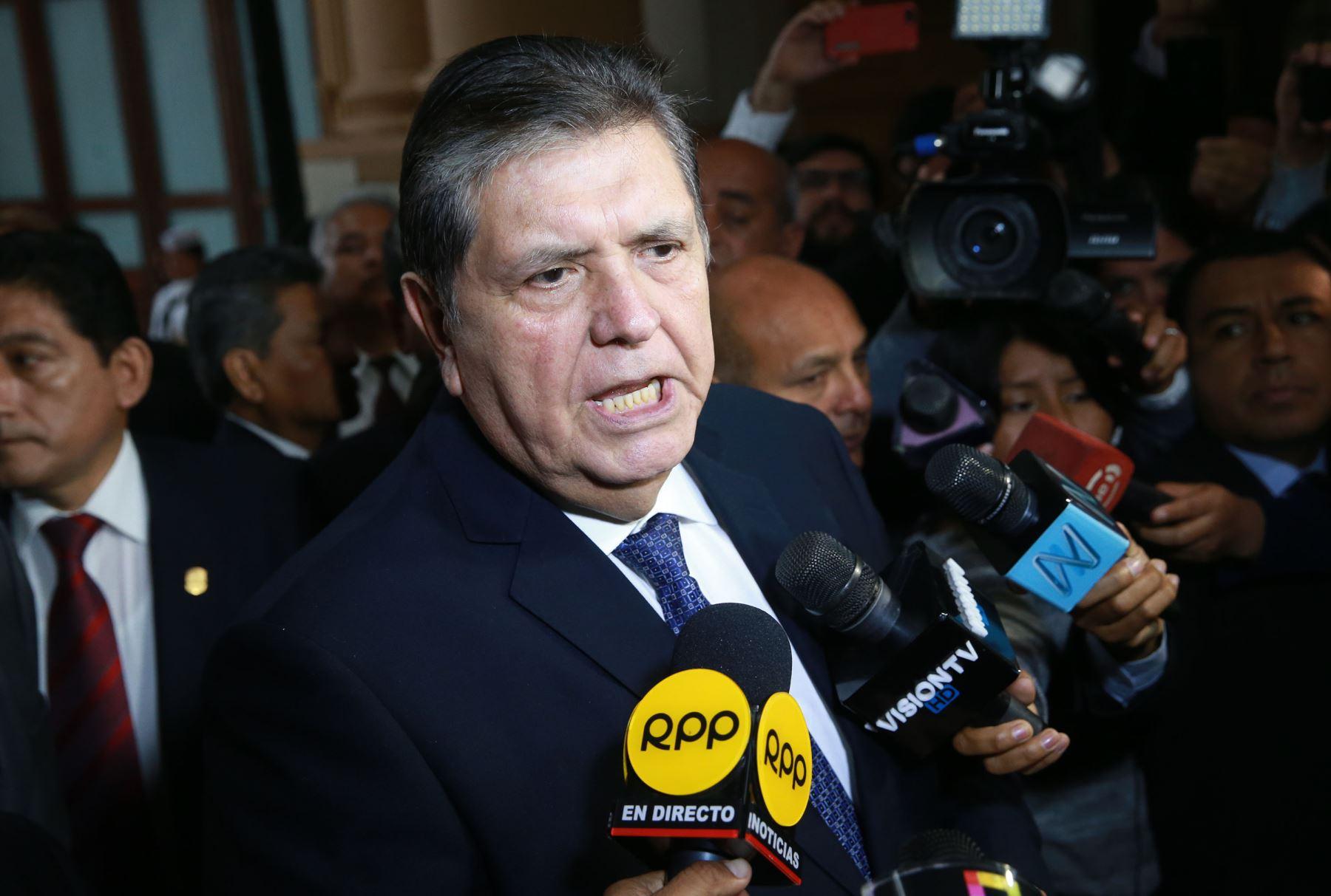 Alan García se disparó cuando la  Diviac lo detenía en su residencia