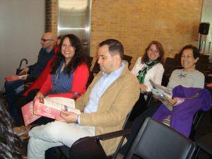 Autores y profesores asistentes. Foto: hm