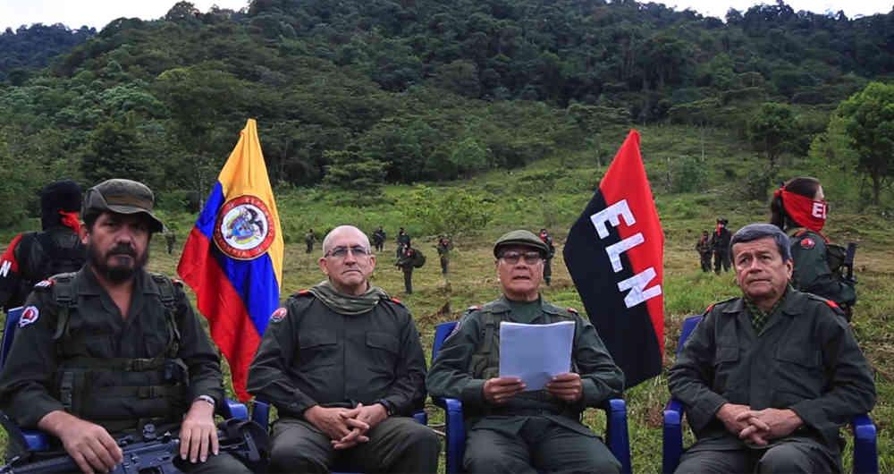Guerrilla del ELN se compromete con cese al fuego durante Semana Santa