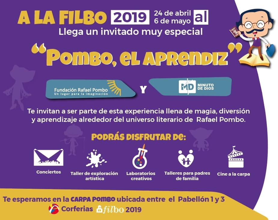 Vamos a la FilBo 2019 con Rafael Pombo