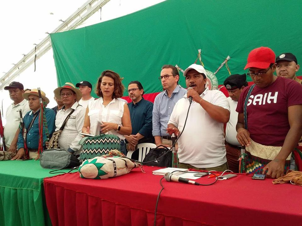 A esta hora, reunión entre las comunidades indígenas y el presidente Iván Duque