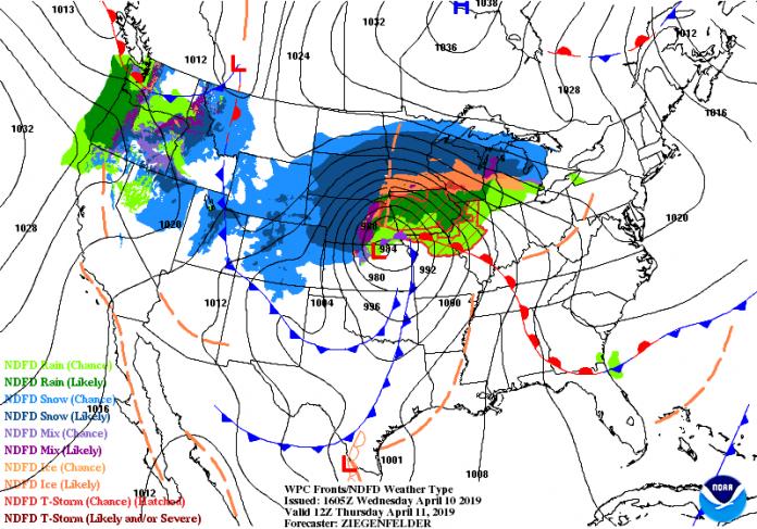 A un mes de que la peor tormenta invernal en más de medio siglo azotase la zona estadounidense de las Montañas Rocosas y del Medio Oeste, varios estados se aprestan para otra