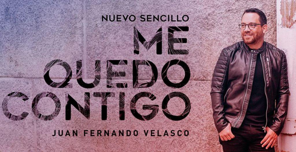 Me quedo contigo: el más reciente sencillo de Juan Fernando Velazco