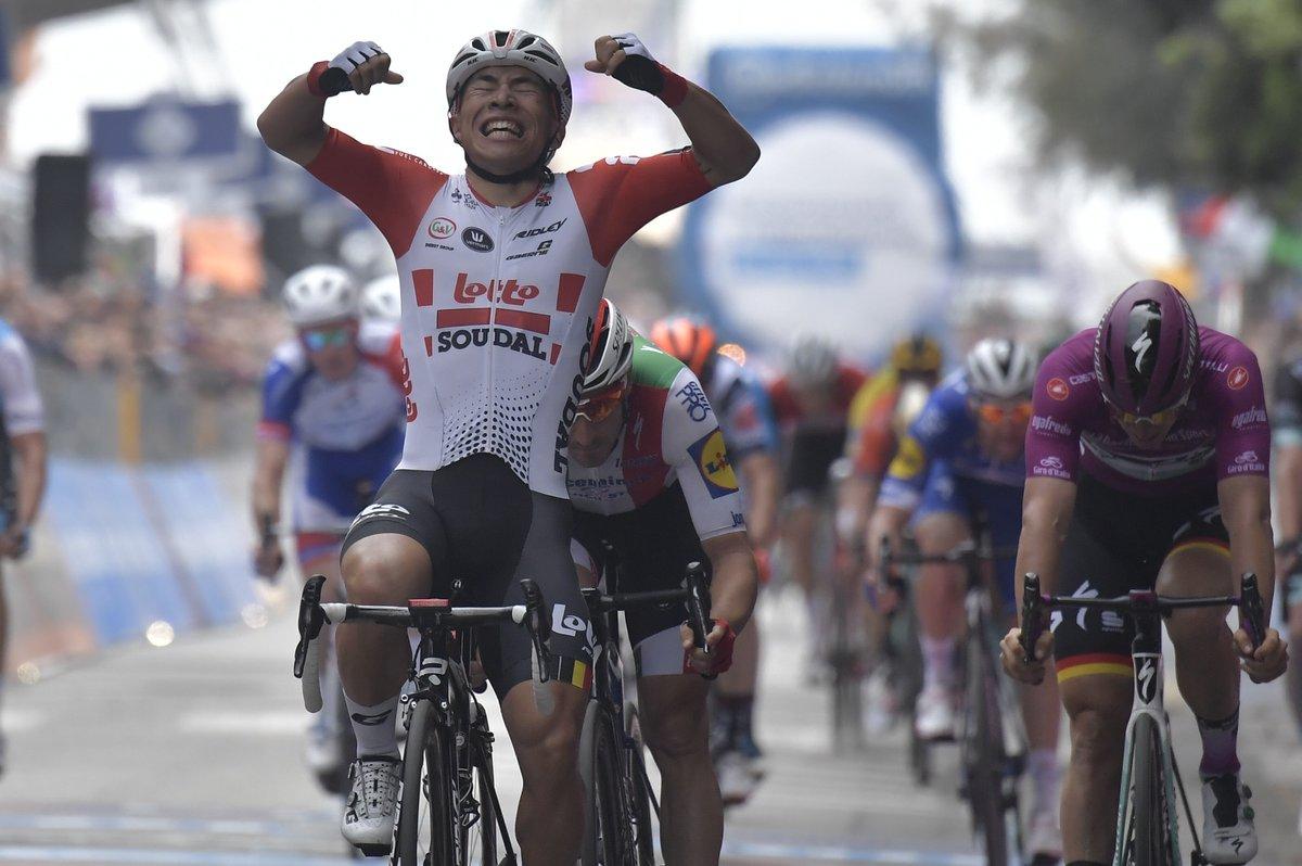Primera victoria del Lotto Soudal en el Giro de Italia