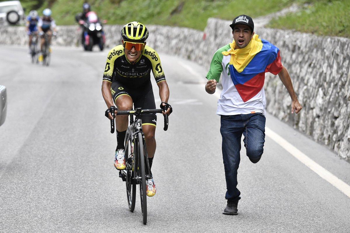 Chavito Chaves ganó la etapa 19 del Giro de Italia