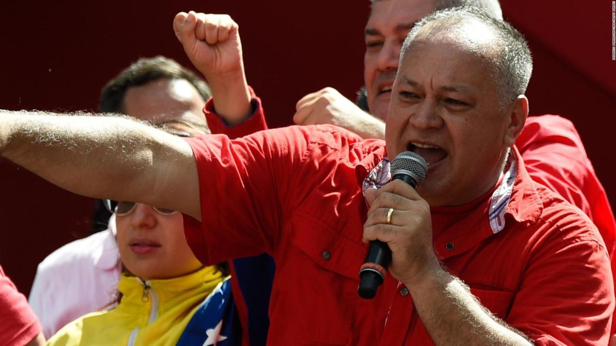 """Cabello dice que Venezuela está dispuesta a recibir a Evo Morales """"cuando quiera"""""""
