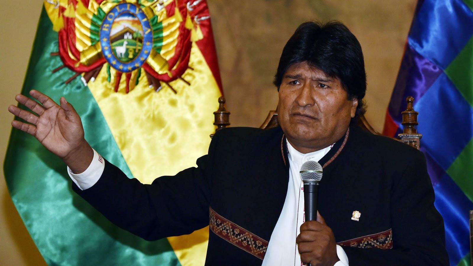 Evo Morales y su gabinete presentaron su renuncia en Bolivia