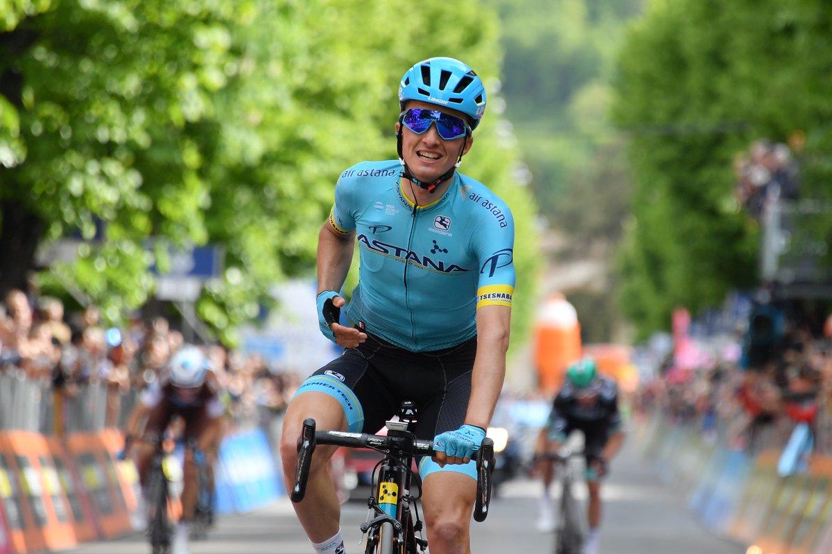 Pello Bilbao conquistó la punta de L'Aquila en Italia