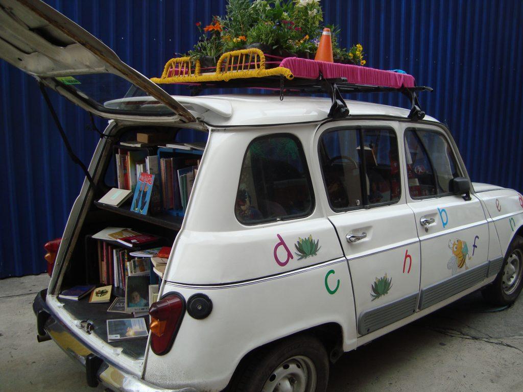 Bibliotecas rodantes en la Filbo 2019: Biblocarrito R4