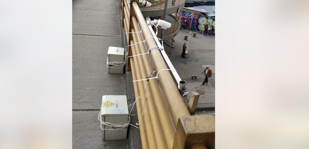 ¿Para qué son las videocámaras que instalaron recientemente en Bogotá?
