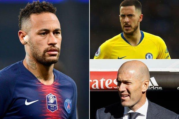 Neymar JR y Eden Hazard ¿la salvación de Florentino Pérez?
