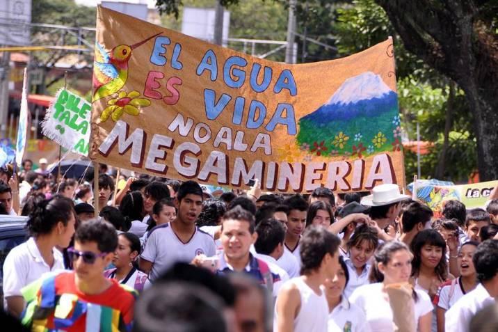 Tarde cívica por marcha en defensa del Páramo Santurbán