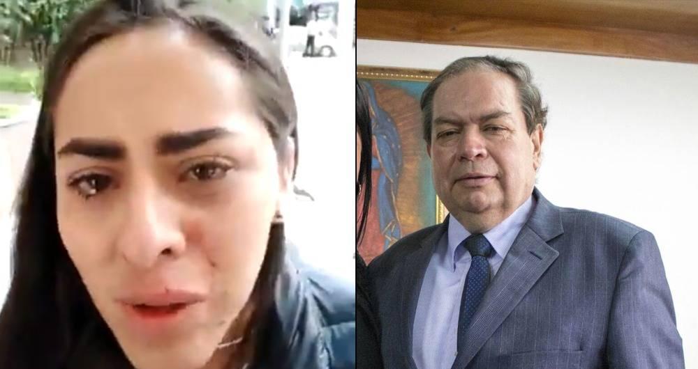 Director de la Revista Congreso golpea a una de sus colaboradoras