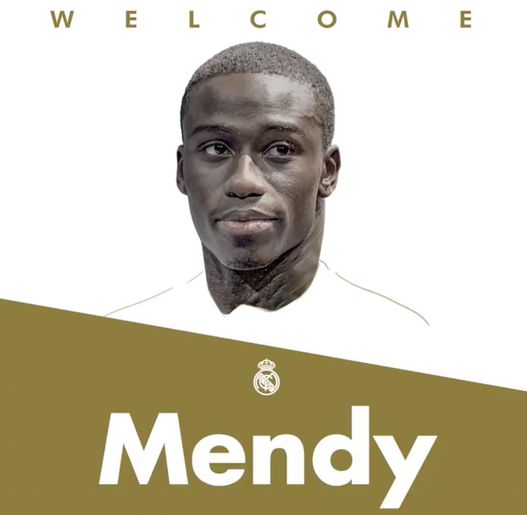 Oficial: Ferland Mendy, nuevo jugador del Real Madrid