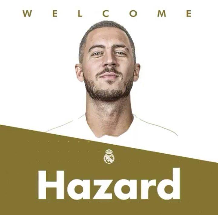 Eden Hazard, el nuevo 7 del Real Madrid